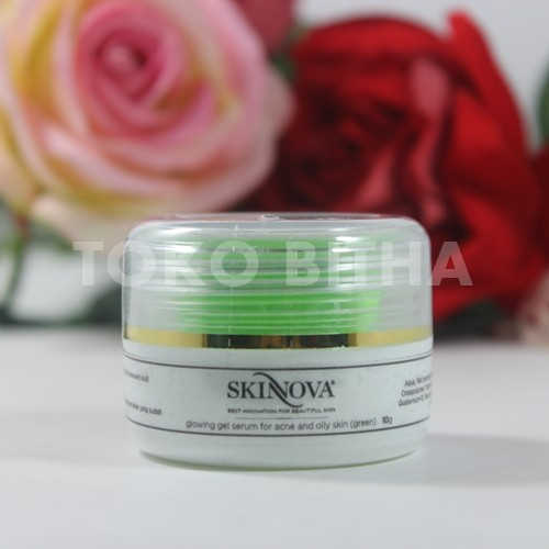 GLOWING GEL SERUM ACNE SKINNOVA 1