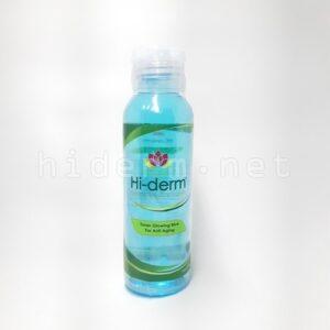 glowing toner blue hi-derm