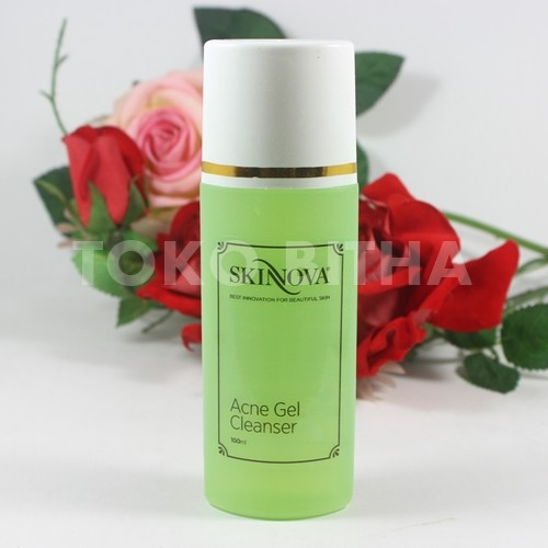 acne gel cleanser skinnova