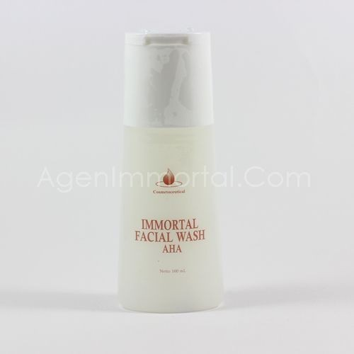 IMMORTAL FACIAL WASH AHA