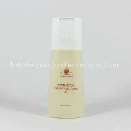 Immortal Facial Wash Acne