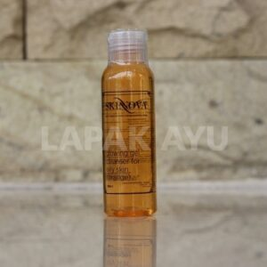 Glowing Gel Cleanser Orange For Oily Skin Skinnova