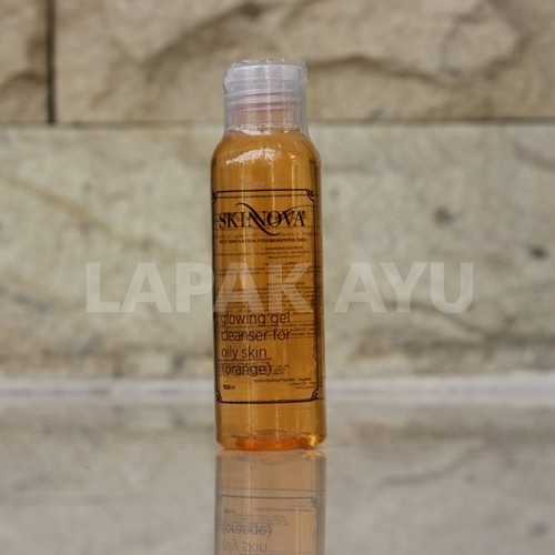Glowing Gel Cleanser Orange For Oily Skin Skinnova