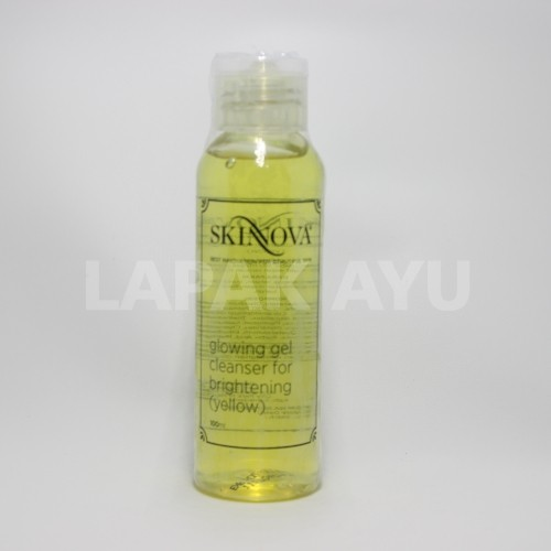 Glowing Gel Cleanser Brightening Yellow Skinnova