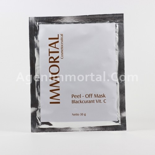 Immortal Masker Peel Off Blackcurant Vit C
