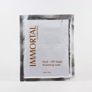 Immortal Peel Off Mask Pearlizing Gold