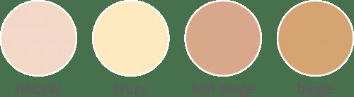 sample warna bedak IMMORTAL