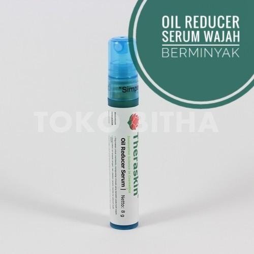 THERASKIN OIL REDUCER SERUM MENGURANGI MINYAK BERLEBIH PADA WAJAH 1