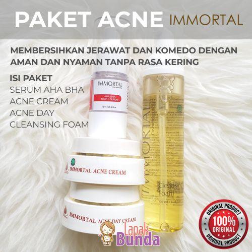 paket simple anti acne immortal