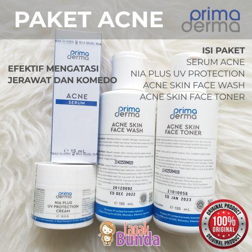 paket anti acne primaderma